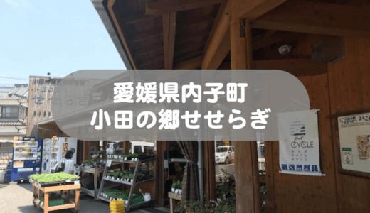 【愛媛県内子町小田】道の駅小田の郷せせらぎに行ってきました